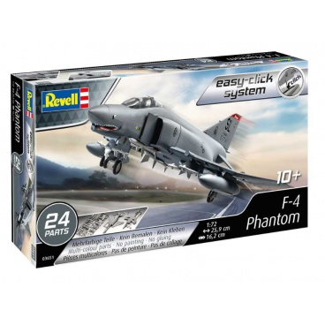 Revell EasyClick letadlo 03651 - F-4 Phantom (1:72)