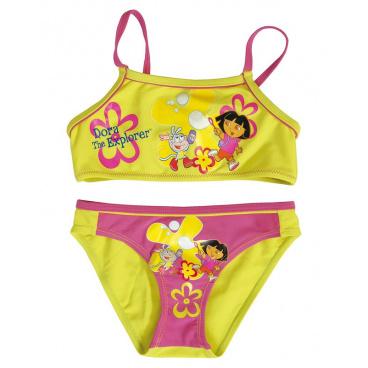 """Dívčí plavky dvojdílné """"Dora"""" zelené, vel. 10 #10"""
