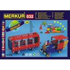 Merkur kovová stavebnice M032 Železniční modely