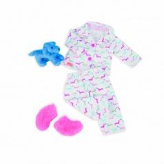 Our Generation Pyžamko s plyšovým pejskem na spaní