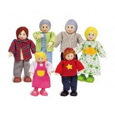 Hape Šťastná kavkazská rodina
