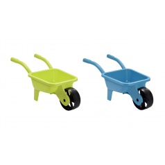 Ecoiffier Zahradní kolečko plastové, žluté / modré