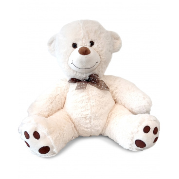 Mac Toys Plyšový medvídek 60 cm, béžový