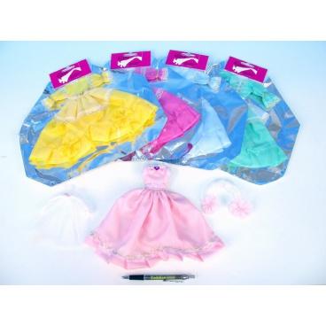 RAPPA hračky Šaty/Oblečky na panenky asst v sáčku 27x30cm