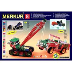 Merkur 8 stavebnice, 1405 dílů, 130 modelů
