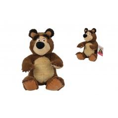 Simba Máša a medvěd Plyšový medvěd 20cm, sedící