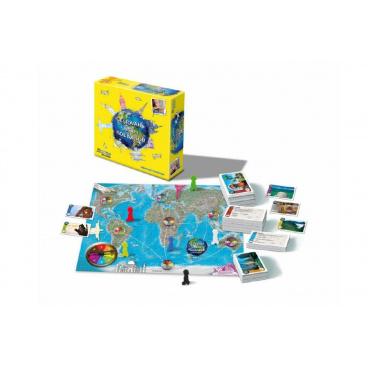 Bonaparte Cestování s Jiřím Kolbabou společenská hra v krabici 29,5x29,5x8cm