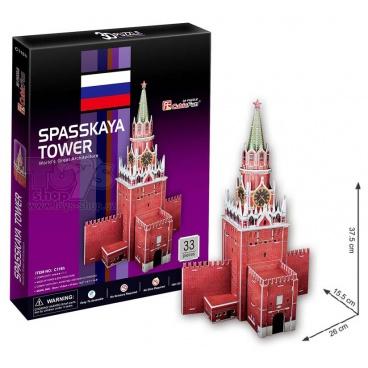 3D puzzle Spyskaya Tower 33 dílků