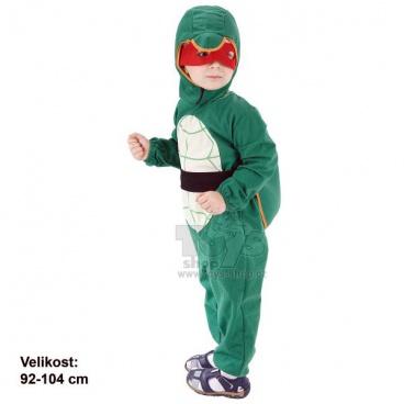 Dětský kostým na karneval - Želvička Ninja 92-104cm