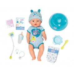 Baby Born Zapf Creation panenka BABY born® Soft Touch Chlapec 43cm