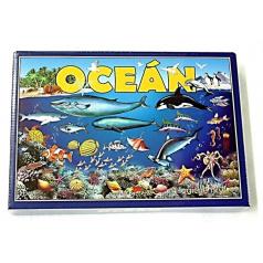 Hydrodata RAPPA hračky Oceán 4 logické hry spoločenská hra v krabici 29x20x4cm