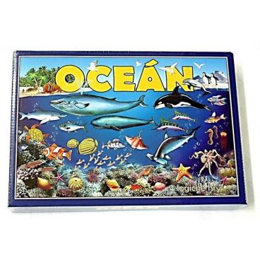 Hydrodata RAPPA hračky Oceán 4 logické hry společenská hra v krabici 29x20x4cm
