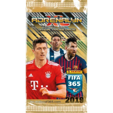 PANINI FIFA 365 2018/2019 - ADRENALYN karty, kartičky s fotbalisty