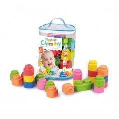 Clementoni Clemmy baby - 48 kostek v plastovém pytli
