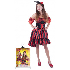 Rappa Karnevalový kostým pro dospělé tanečnice Sally (M)