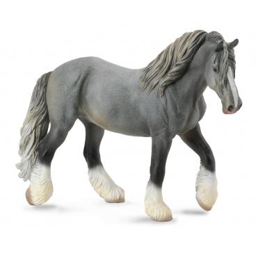 Collecta zvířátka Collecta Shirský kůň - šedá klisna