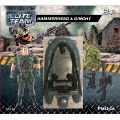 Plastica figurky vojáků Hammerhead Dinghy