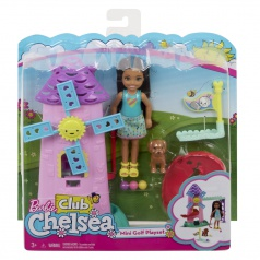 Mattel Barbie CHELSEA MINIGOLF HERNÍ SET