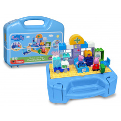 Big PlayBig BLOXX Peppa Pig Sada s kufříkem