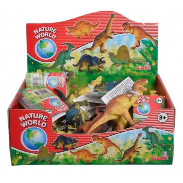 Simba Gumový dinosaurus 11-14cm, assort 6 druhů
