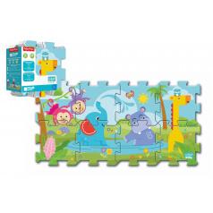 Trefl Pěnové puzzle Fisher Price 31x32cm 8ks v sáčku