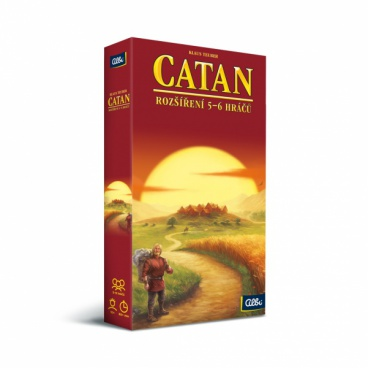Albi hra Osadníci z Catanu - rozšíření pro 5-6 hráčů