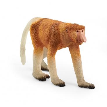 Schleich 14846 Zvířátko - opice Kahau nosatá