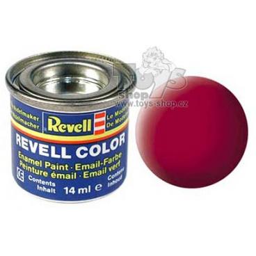 Revell emailová barva 32136 matná Carmin Red