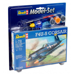 Revell ModelSet letadlo 64143 - F4U-5 Corsair (1:72)