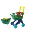 Teddies Nákupní vozík/košík plast 31x59x40cm
