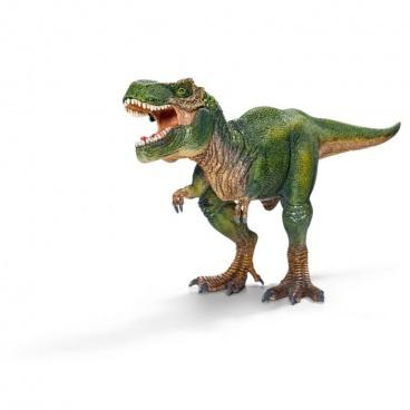 Schleich 14525 prehistorické zvířátko - Tyrannosaurus Rex s pohyblivou čelistí