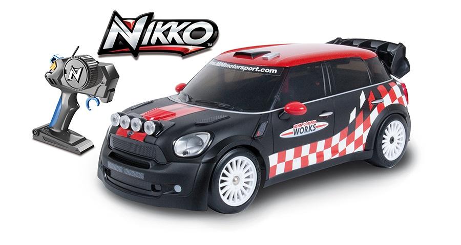 NIKKO RC auto na dálkové ovládání MINI Countryman WRC 1:16