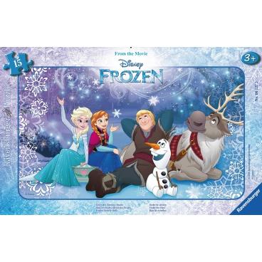 Ravensburger dětské puzzle Disney Ledové království 15 dílků