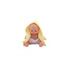 Teddies Miminko panenka pevné tělo plast 12cm 3druhy