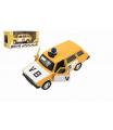 Teddies Policejní auto VB combi kov/plast 11,5cm na zpětné natažení na baterie se zvukem v krabičce 15x7x7cm