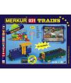 MERKUR - Stavebnice Merkur 031 Železniční modely, 211 dílů, 10 modelů