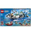 LEGO Policajná hliadková loď
