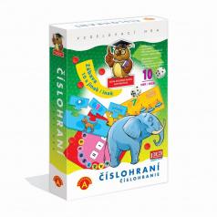 PEXI ČÍSLOHRANIE (10 hier v 1) - vzdelávacia hra