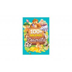 FONI Book Kniha so samolepkami Zvieratá 100+ nálepiek SK verzia 21x30cm
