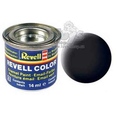 Revell emailová barva 32108 matná černá 14ml