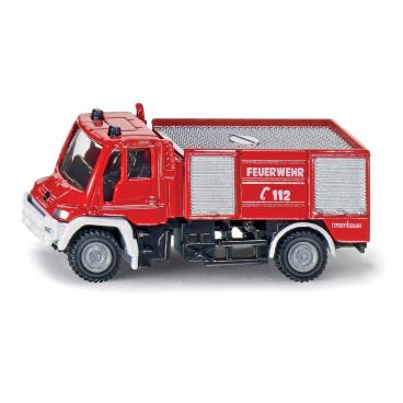 SIKU 1068 Blister - požární vozidlo Unimog, měřítko 1:87