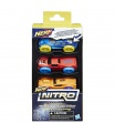 Nerf Nitro náhradní autíčka Nitro 3 ks asst
