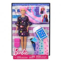 Mattel Barbie s žužu vlasy běloška