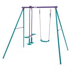 Plum Products Ltd. Dětská kovová houpačka 2v1, 210x178x183cm