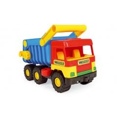 WADER Auto middle Truck sklápač plast 38cm Wader