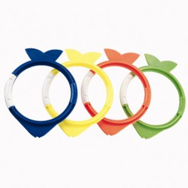 Bestway Rybičky k potápění - mix 4 barev (modrá, žlutá, oranžová, zelená)