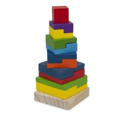 Rappa Dřevěná věž Baby 20 cm
