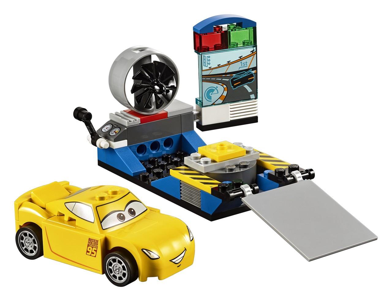 Lego Juniors 10731 Cars Závodní simulátor Cruz Ramirezové