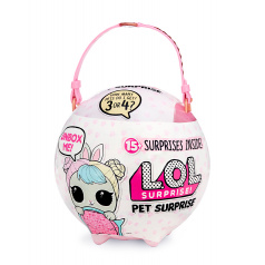 MGA L.O.L. Surprise Biggie Pets Velké zvířátko - Králíček