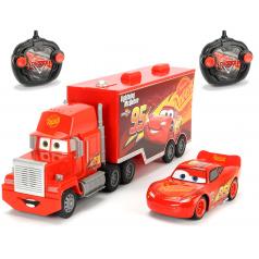 Dickie RC Cars 3 Turbo Mack Truck 46 cm, 3kan + Blesk McQueen 1:24, 2kan